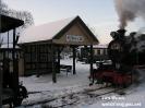 Kleinbahn im Winter